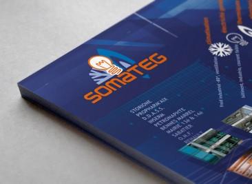 Plaquette Flyer SOMATEG A4