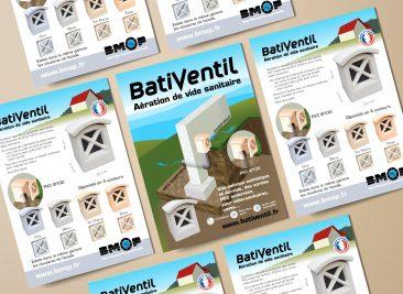Flyer A6 BatiVentil pour BMOP
