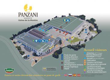 Panzani groupe plan de l'usine de la montre marseille