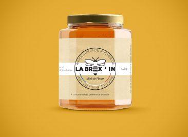 Pot de miel du Rucher de la Brex'IN