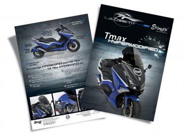 Flyer A4 pour le kit 530 Tmax Ermax® / Lazareth®